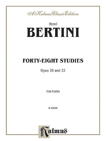 Forty-eight Studies, Op. 29 & 32
