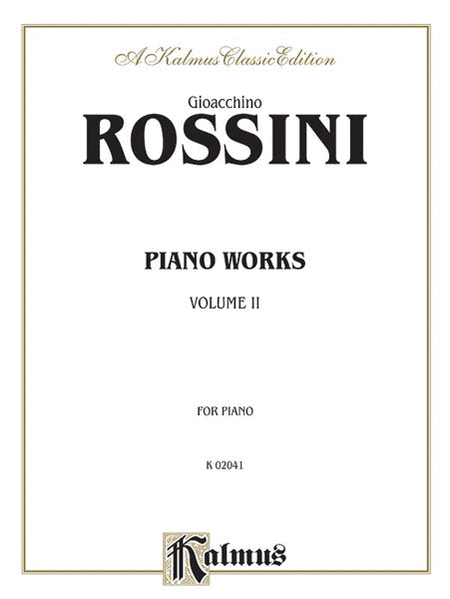 Piano Works, Volume 2