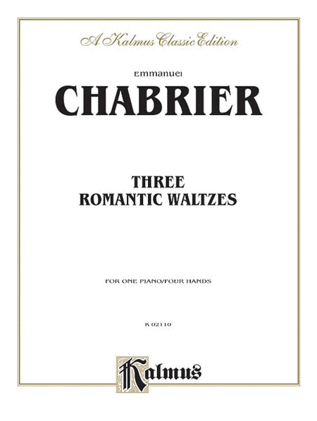 Three Romantic Waltzes