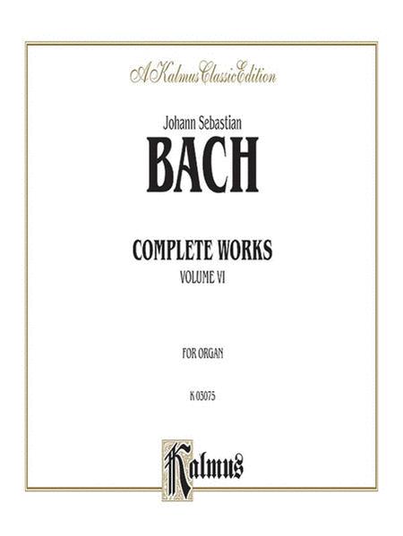 Complete Organ Works, Volume 6