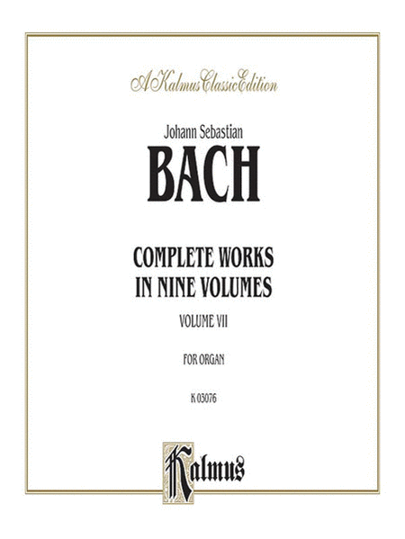 Complete Organ Works, Volume 7