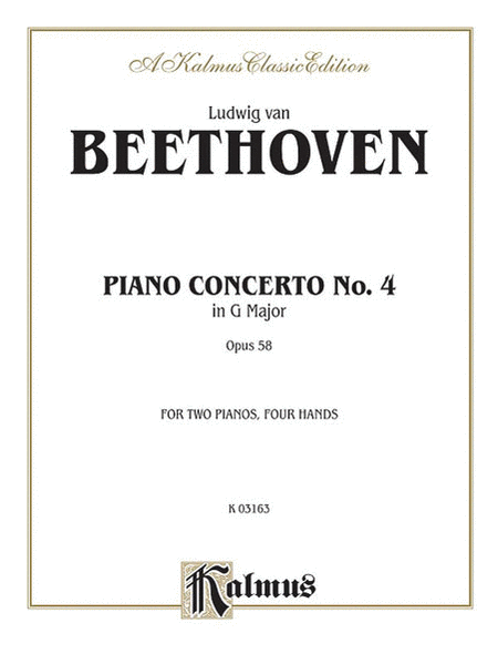 Piano Concerto No. 4 in G, Op. 58