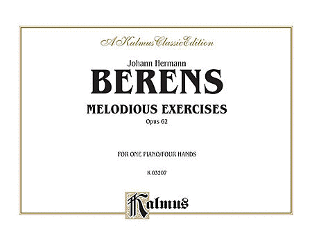 Melodious Exercises, Op. 62