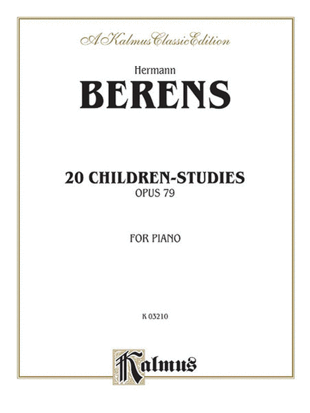 20 Children's Studies, Op. 79