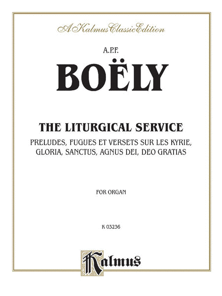 Liturgical Service, Volume 1