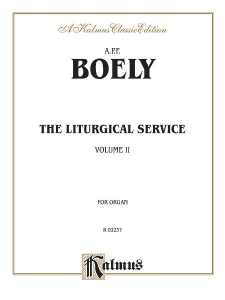 Liturgical Service, Volume 2