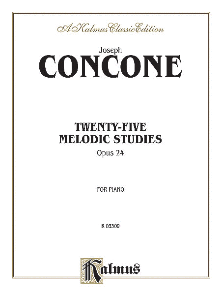 Twenty-five Melodious Studies, Op. 24