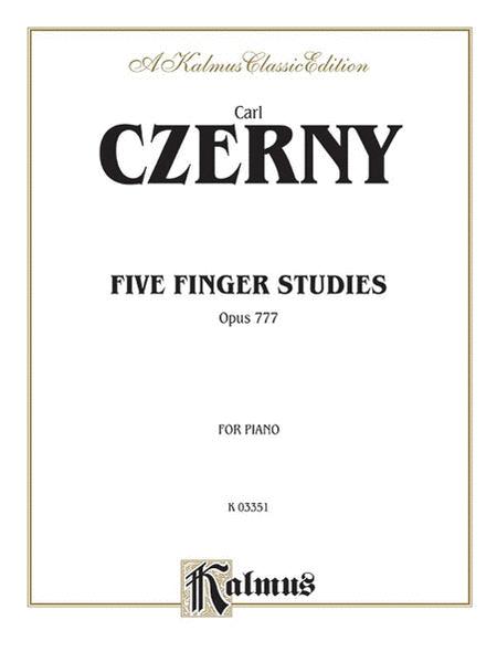 Five Finger Studies, Op. 777