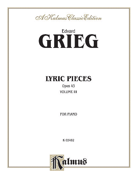 Lyric Pieces, Op. 43