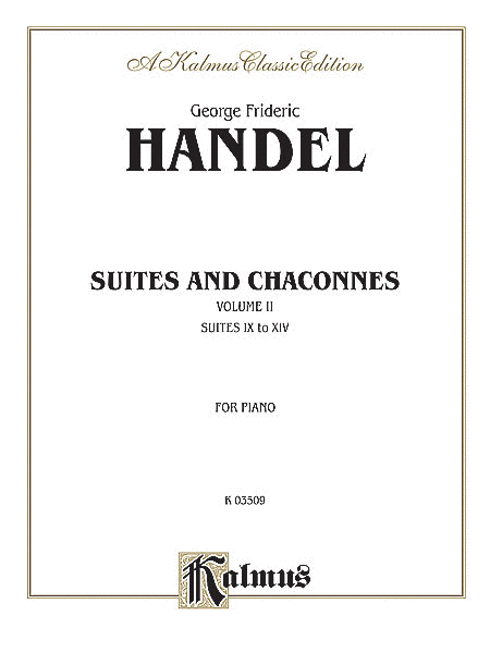 Suites and Chaconnes, Volume 2