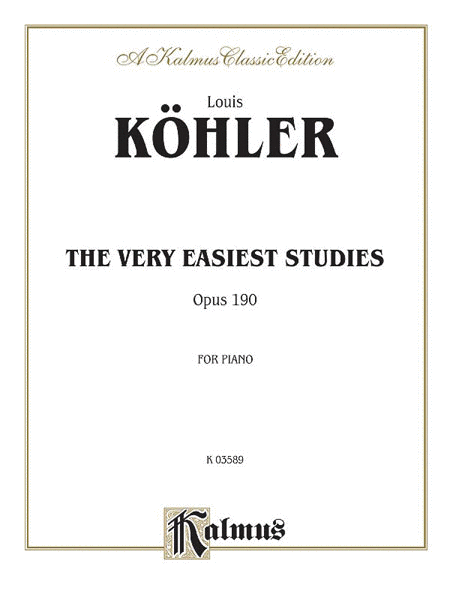 The Very Easiest Studies, Op. 190