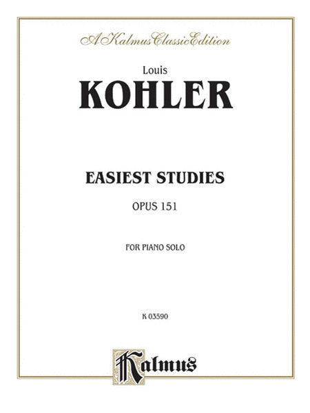 Easiest Studies, Op. 151