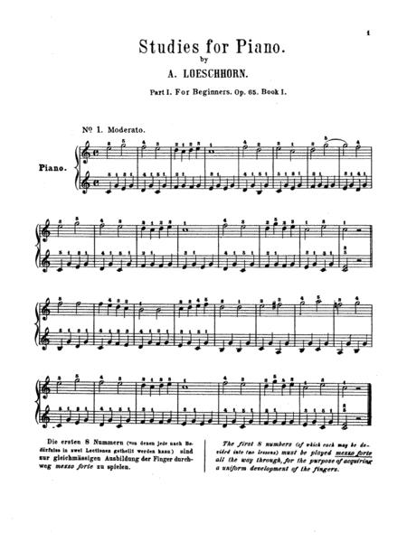 Twenty Melodious Studies, Op. 65