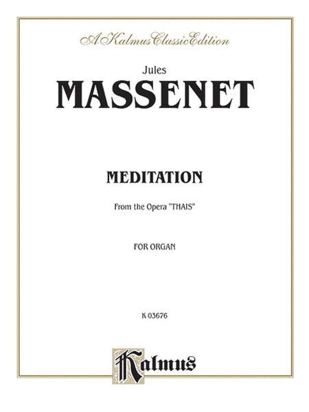 Meditation from the Opera Thaïs
