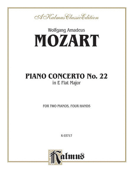 Piano Concerto No. 22 in E-flat, K. 482