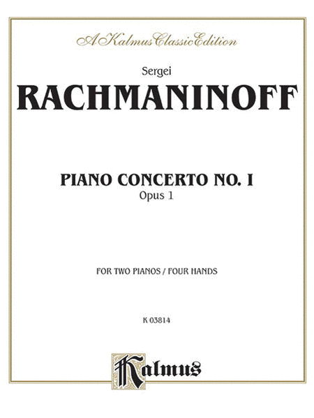 Piano Concerto No. 1 in F-sharp Minor, Op. 1