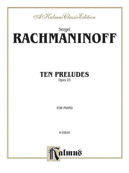 Ten Preludes, Op. 23