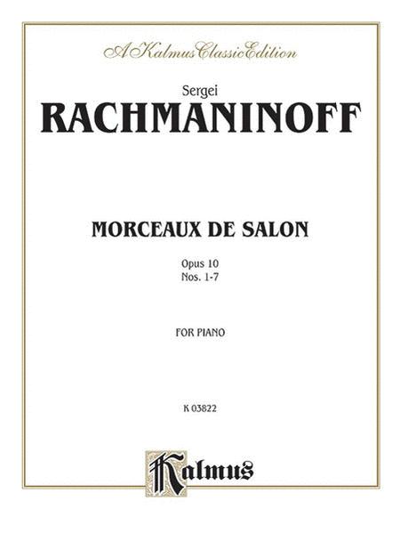 Morceaux de Salon, Op. 10