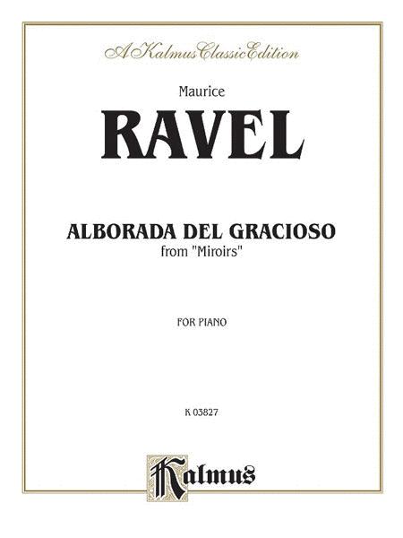 Alborada del gracioso from Miroirs