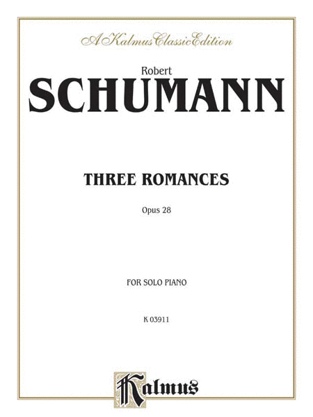 Three Romances, Op. 28