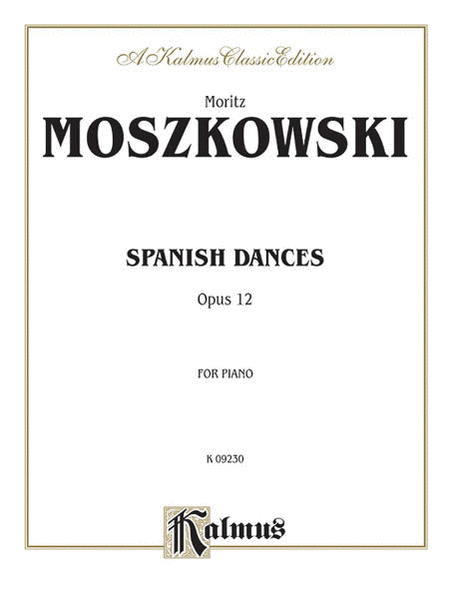Spanish Dances, Op. 12