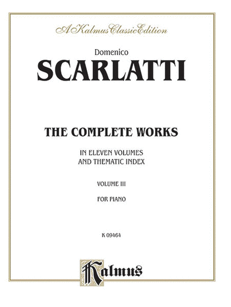 The Complete Works, Volume 3