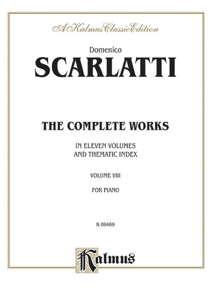 The Complete Works, Volume 8
