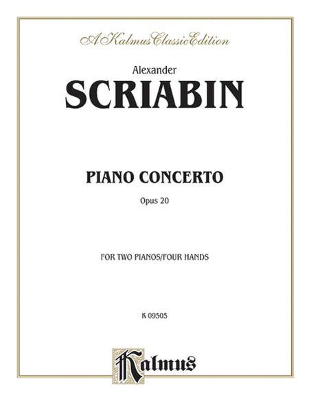 Piano Concerto, Op. 20