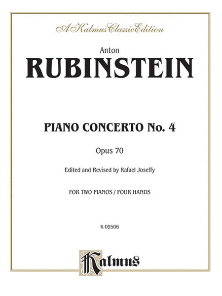 Piano Concerto No. 4, Op. 70