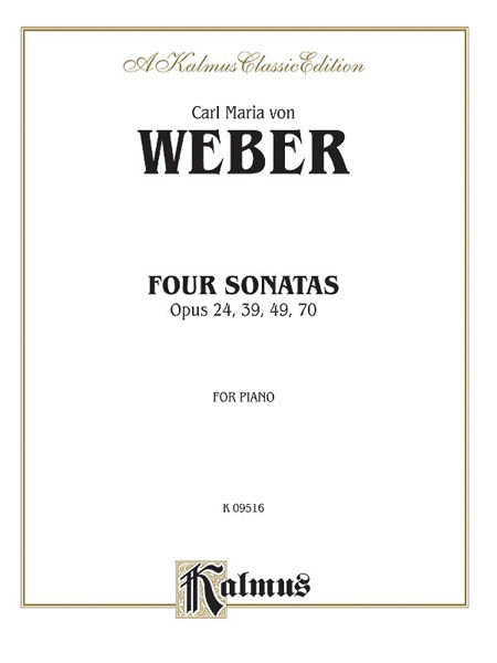 Four Piano Sonatas, Op. 24, 39, 49, 70