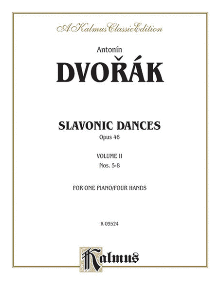 Slavonic Dances, Op. 46, Volume 2
