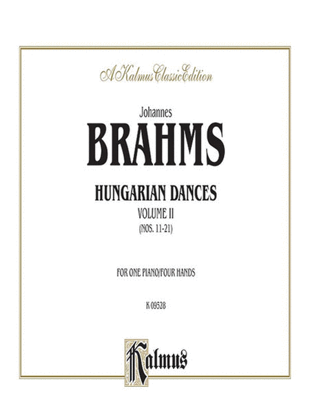 Hungarian Dances, Volume 2
