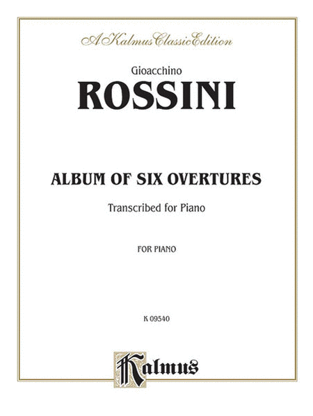Album of Six Overtures