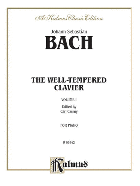 Well-Tempered Clavier, Volume 1