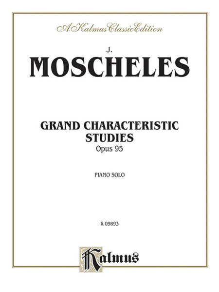 Grand Characteristic Studies, Op. 95
