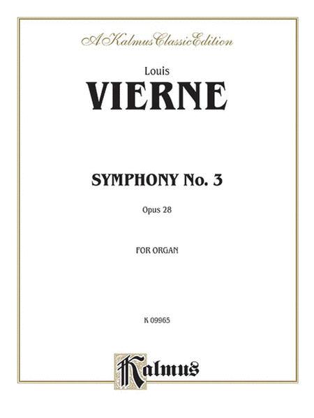 Symphony No. 3, Op. 28