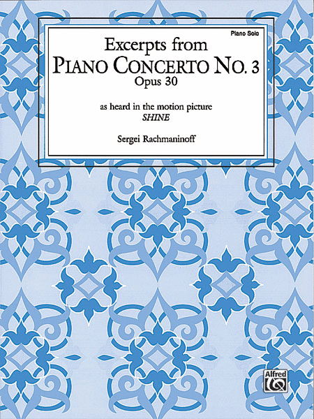Piano Concerto No. 3, Op. 30 - Excerpts