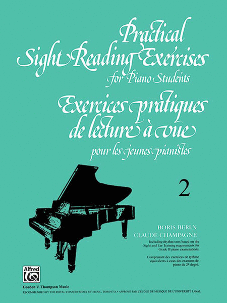 Practical Sight Reading Exercises for Piano Students, Book 2