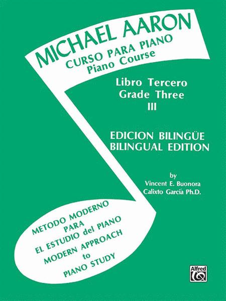 Michael Aaron Piano Course (Curso Para Piano), Book 3