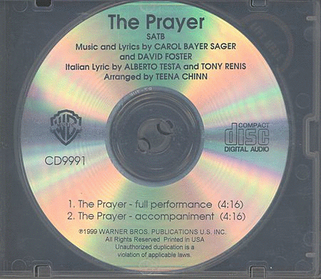 The Prayer - CD