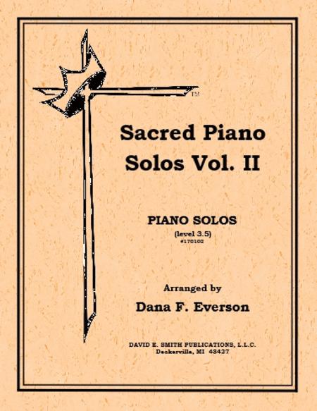 Sacred Piano Solos Volume II