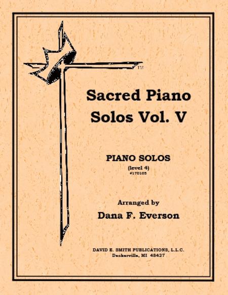 Sacred Piano Solos Volume V