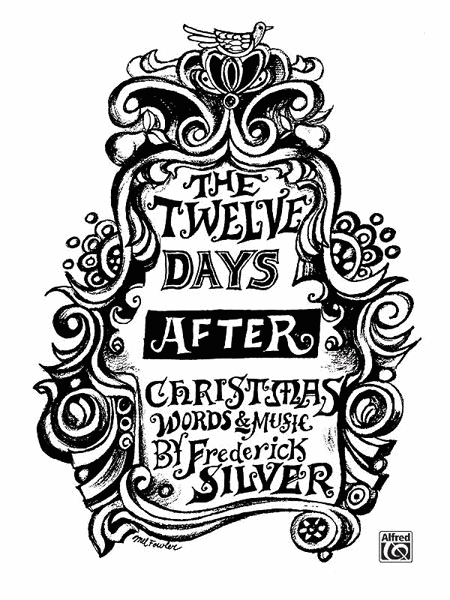 The Twelve Days After Christmas Sheet Music By Frederick Silver ...