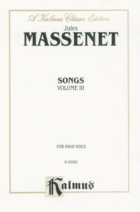 Songs, Volume 3