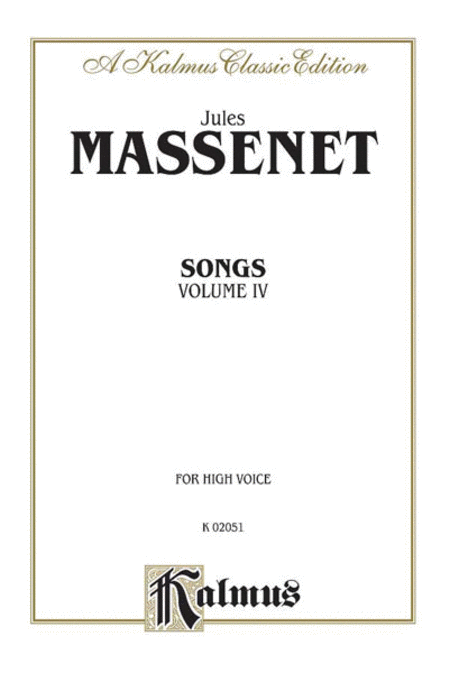 Songs, Volume 4