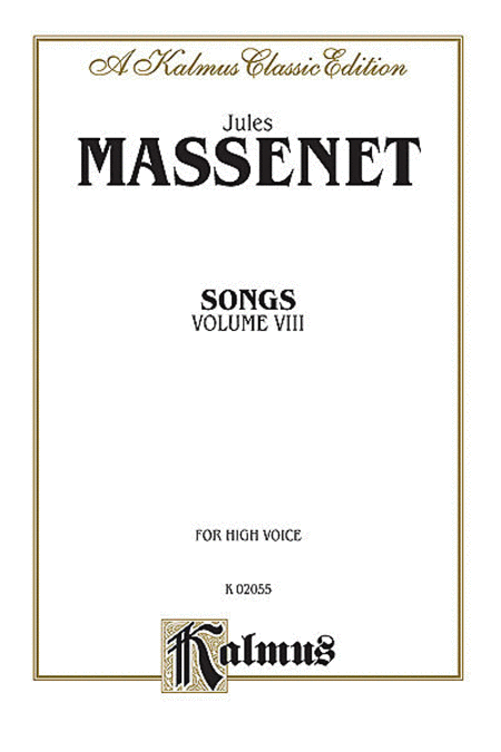 Songs, Volume 8