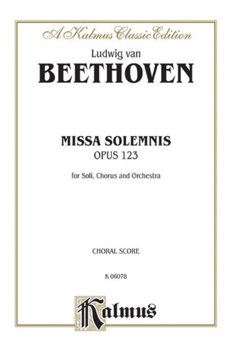 Missa Solemnis, Op. 123