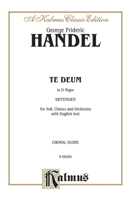 Dettingen Te Deum (D Major)