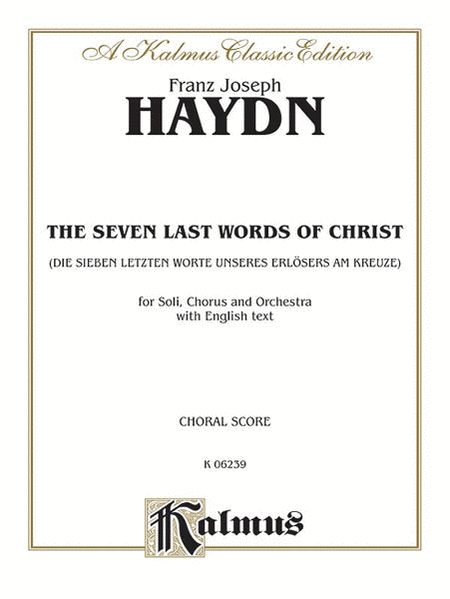 The Seven Words of Christ