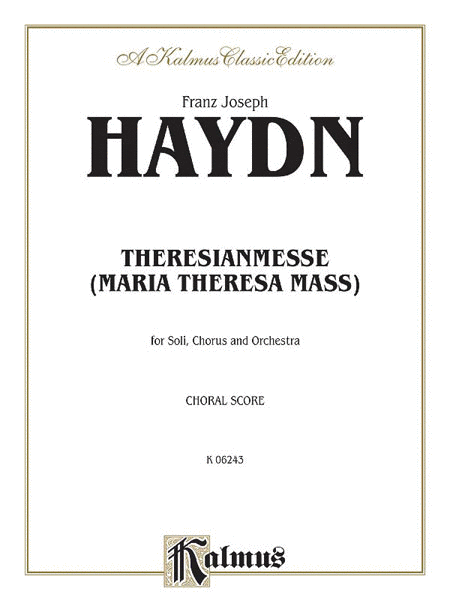 Theresa Mass in B-flat Major